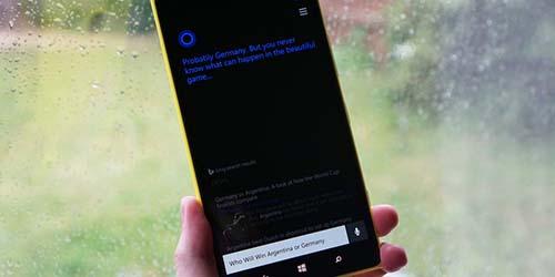 Prediksi Jerman vs Argentina, Cortana: Jerman!