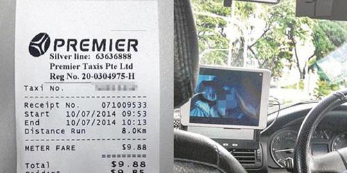 Sopir Taksi Singapura Nonton Video Porno Saat Bertugas