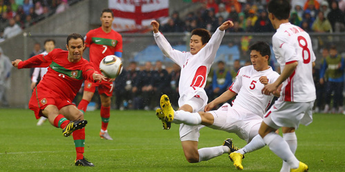 Video Final Piala Dunia 2014 Versi Korut, Korea Utara vs Portugal!