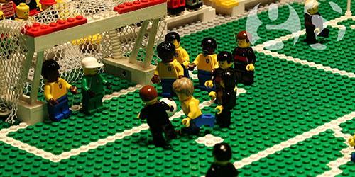 Video Tragedi Pembantaian Brasil vs Jerman Versi LEGO