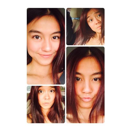 Agnes Monica selfie