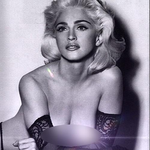 Foto topless Madonna