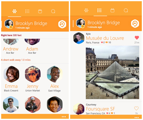 Swarm for Windows Phone