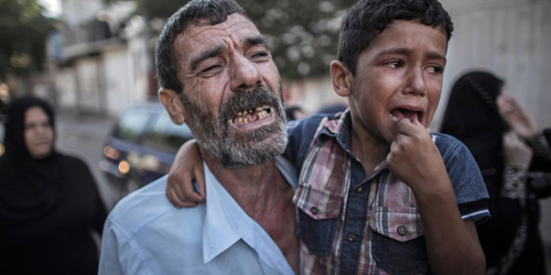 Bocah Gaza Ditemukan Hidup Setelah 4 Hari Dikabarkan Tewas