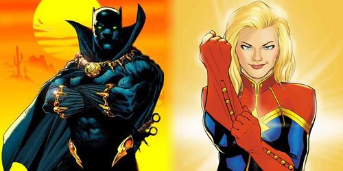 Black Panther dan Captain Marvel Muncul di The Avengers 3