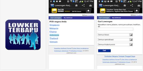 8 Aplikasi Android Untuk Para Pencari Kerja: Lowongan Kerja Terbaru