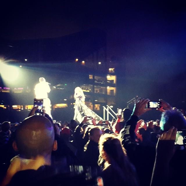 BCL tonton konser Beyonce