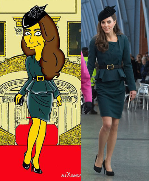 Kate Middleton The Simpsons