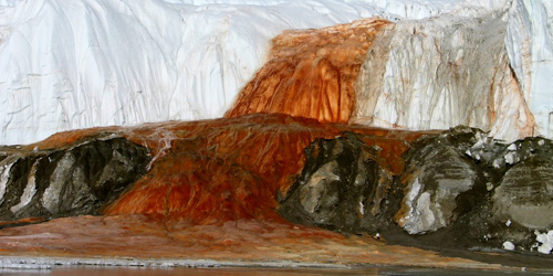 Mengungkap Misteri Air Terjun Darah di Antartika