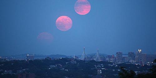 Fenomena Bulan Kembar 27 Agustus 2014 Ternyata Isapan Jempol