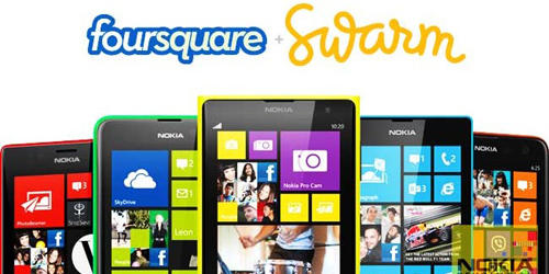 Foursquare Rilis Aplikasi Swarm di Windows Phone