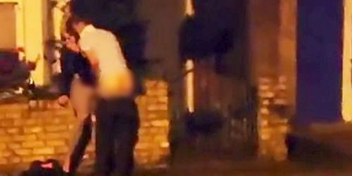 Video Seks di Pinggir Jalan Hebohkan Warga Inggris