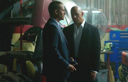 Paul Walker dan Vin Diesel di FF7