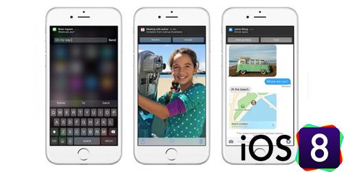 Minim Fitur Baru, Pengguna iPhone Tak Tertarik Upgrade iOS 8