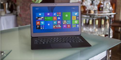 Asus Zenbook UX305, Laptop Langsing Berprosesor Core M