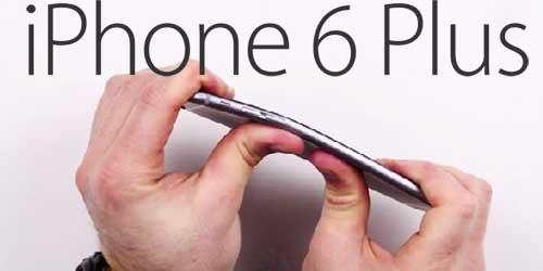 iphone 6 plus rawan bengkok