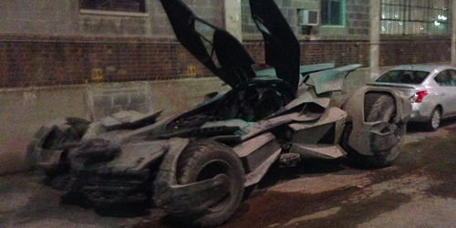 Foto Batmobile Versi Baru di Batman v Superman: Dawn of Justice