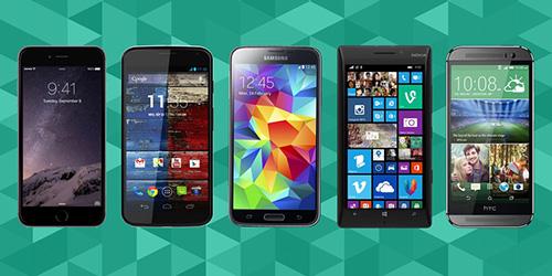iPhone 6 & iPhone 6 Plus vs. Galaxy S5 vs. HTC One M8 vs. Lumia 930 vs. Moto X