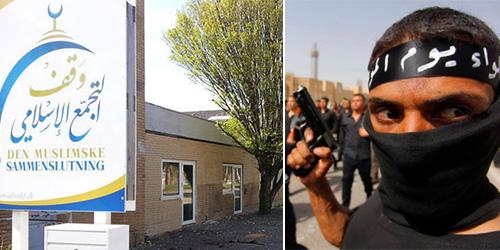 Masjid Grimhojvej di Denmark Dukung ISIS