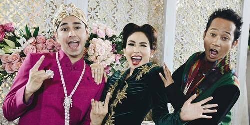 Biaya Pernikahan Raffi Ahmad-Nagita Slavina Mencapai Miliaran Rupiah