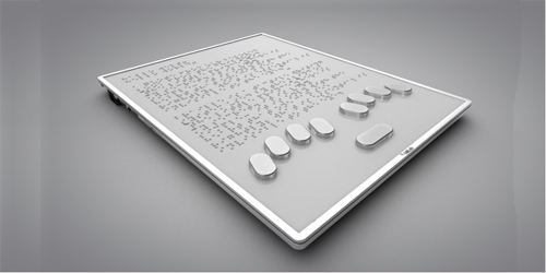 Blitab, Tablet Braille Bagi Tunanetra