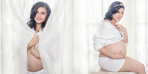 7 Artis Cantik Berpose Seksi Saat Hamil: Asha Shara
