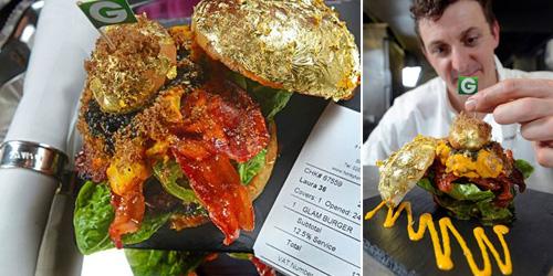 Glamburger, Burger Termahal Sedunia Dibanderol Rp 22 Juta