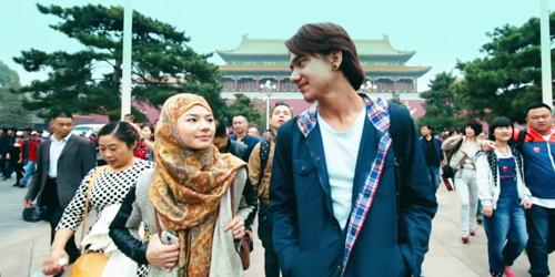 Kisah Cinta Adipati Dolken-Eriska Rein di Trailer Kukejar Cinta ke Negeri Cina