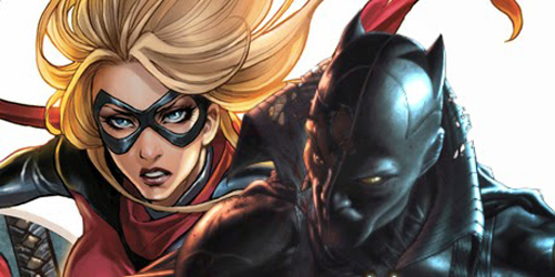 Marvel Garap Film Captain Marvel dan Black Panther