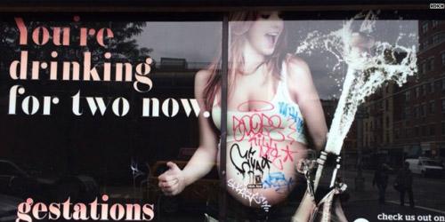 Papan Iklan Bar Khusus Wanita Hamil Menuai Kecaman