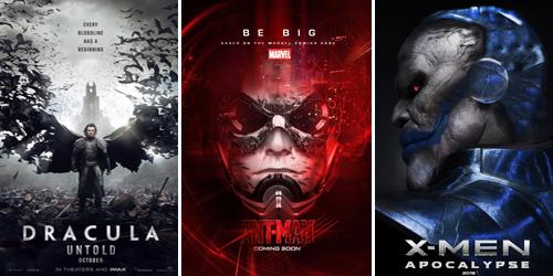 Poster Film Hollywood Keren yang Tayang Tahun 2014-2016
