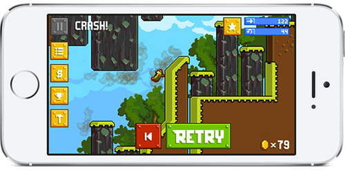 Retry, Game Terbaru Rovio Yang Membuat Frustrasi