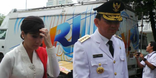 Ahok Dilantik Presiden Jokowi, DKI Jakarta Resmi Punya Gubernur Baru