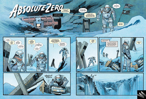 Komik Interstellar: Absolute Zero