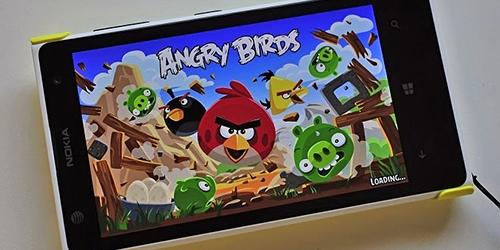 Game Angry Birds Gratis di Windows Phone