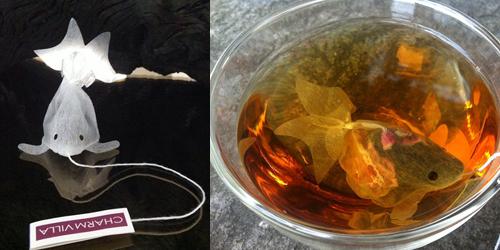 GoldFish Tea Bag, Sensasi 'Ikan Mas' Dalam Cangkir Teh