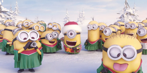 Video Kocak Minions Nyanyikan Jingle Bells