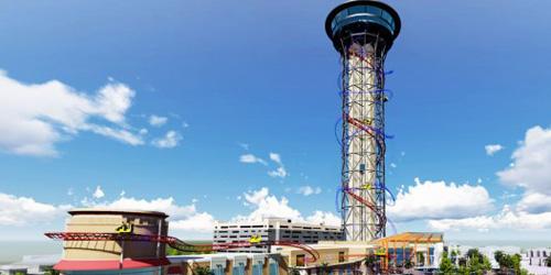 Ini Roller Coaster Tertinggi di Dunia 152 Meter!