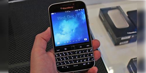 BlackBerry Classic Dirilis, Harga Rp 5,6 Juta