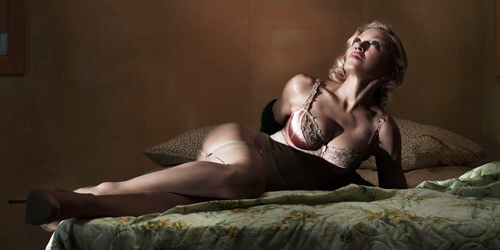 Foto Madonna Topless di Majalah Interview