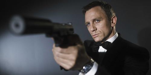 Foto Proses Syuting James Bond: Spectre di London