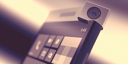 Spinner, Konsep Kamera Putar Windows Phone
