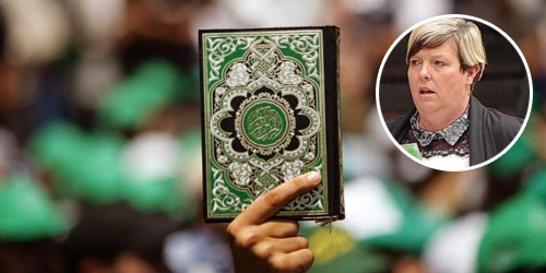 Wanita Inggris Sobek Al-Quran Dilarang Datang Ke Stadion Sepak Bola