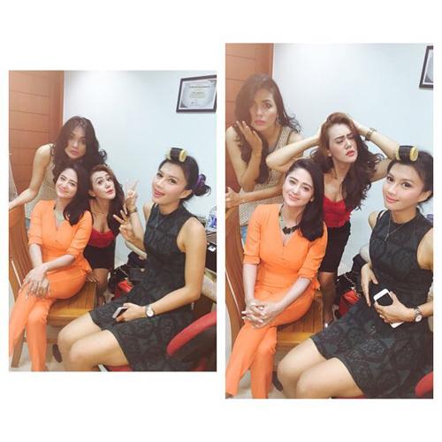 Dewi Perssik, Irene Justine, Sissy Firman dan Kartika Waode di TVM Janda Jatuh Cinta