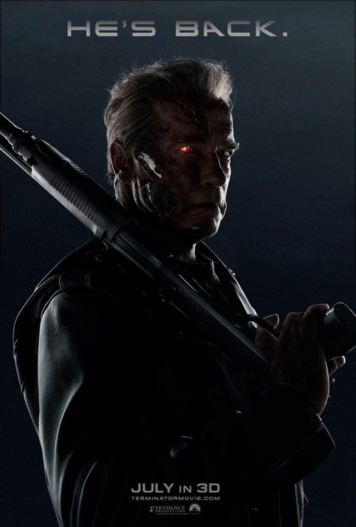 Terminator: Genisys poster terbaru