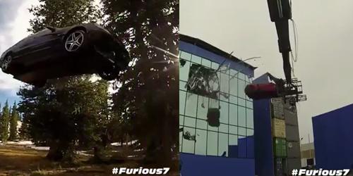 Behind The Scene Furious 7: Aksi Mobil Terbang