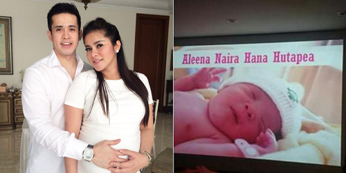 Aleena Naira Hana Hutapea, Nama Putri Olla Ramlan-Aufar Hutapea