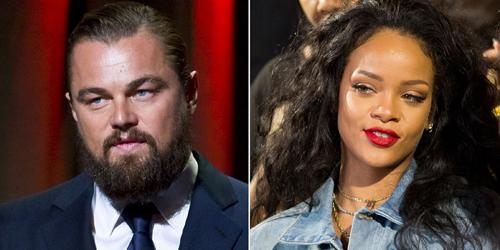 Rihanna-Leonardo DiCaprio Berciuman di Playboy Mansion