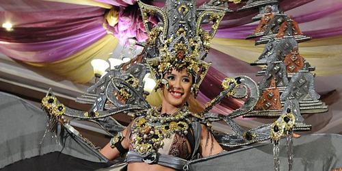 Elvira Devinamira Masuk Kandidat Terkuat Pemenang Miss Universe 2015
