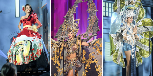 Foto Kostum Nasional Kontestan Miss Universe 2015